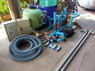 Full Pool Filter & Pump Equipment