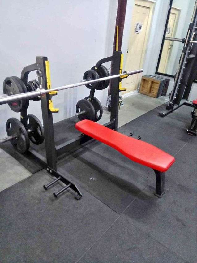 Olympic bench