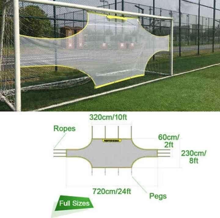 Goalshot (R), football (soccer), full size, for goal target practice