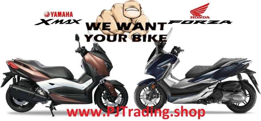 Looking to buy 2018/2021Honda Forza 300/350 and Yamaha X-Max 300