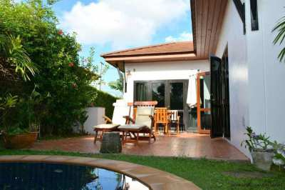 New price for this 2 bedroom Jacuzzi villa - 400 meters from the beach