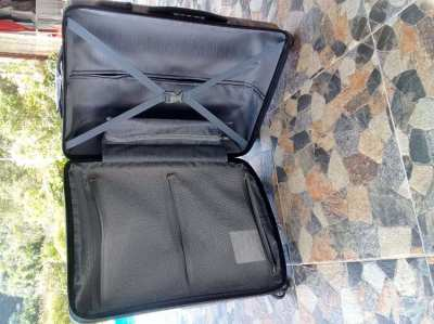 New PVC luggage, never used