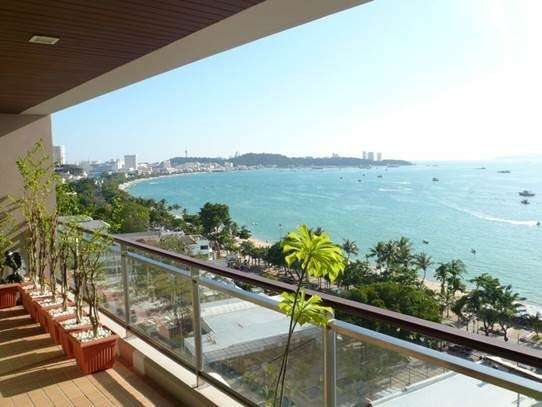 Amazing 268 sqm condo in Northshore with wonderful direct sea view