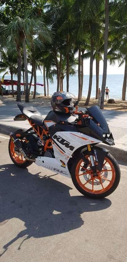 Like new KTM RC390