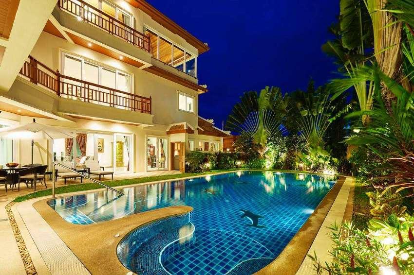Breathtaking 930 m2, 5 storey pool villa with sea view in Pratumnak