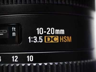 Nikon Mount Sigma 10-20mm F/3.5 EX DC SLD HSM Lens