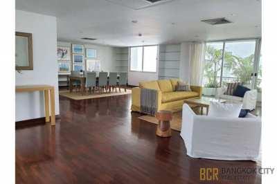 Very Spacious 3 Bedroom Pet Friendly Luxury Apartment in Sathorn