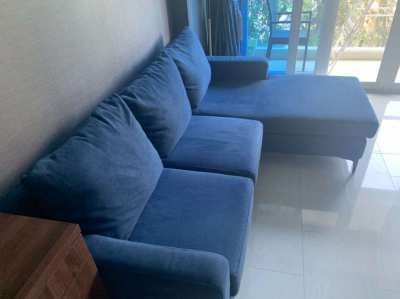 Index Living Mall. L Shaped Sofa