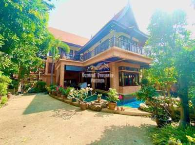 Thai-Bali Style Beachfront Village, 3 story, 4 bedroom, 4 bathroom