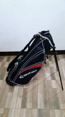 golf bag with stand