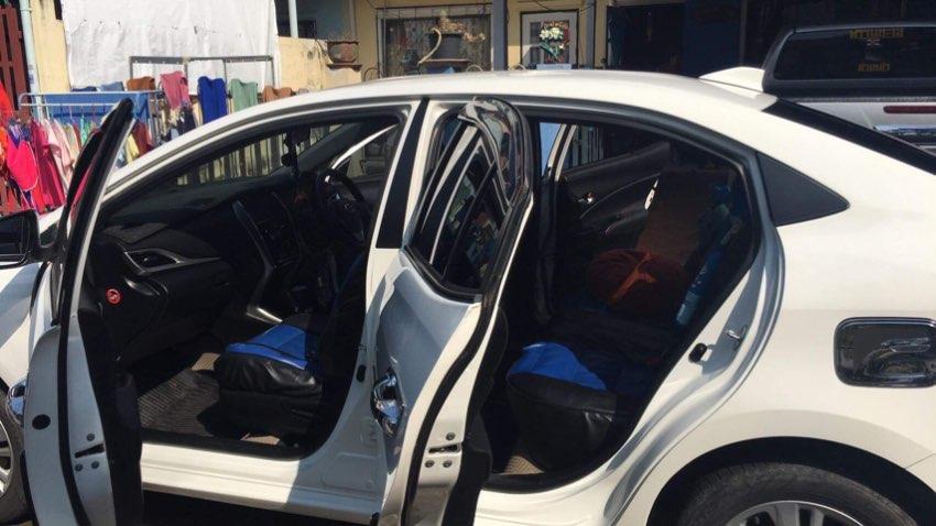 รถเก๋งTOYOTA YARIS ATIV 1.2 [S] 2018เกียร์ออโต้ สภาพดีมาก