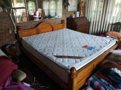 Solid Teak Beds