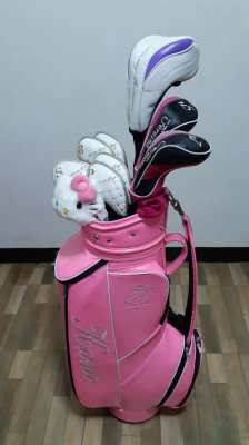 Complete golf club set for ladies