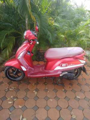 2016 Yamaha grand filano for sell only 7500 km