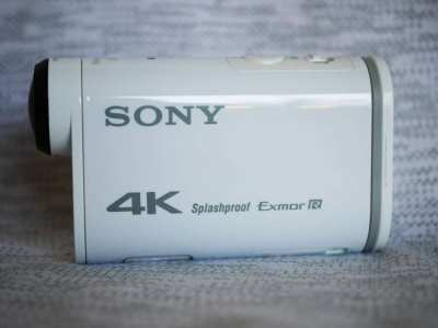 Sony FDR-X1000V GPS, Wi-Fi, NFC, f/2.8 Carl Zeiss Tessar, 4K Video