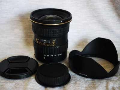 Canon Mount Tokina 11-16mm f/2.8 Pro DX II Lens ATX-Pro (IF)
