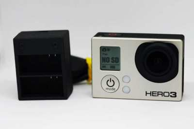 GoPro Hero3 (Black Edition) Wi-Fi Action Camera Camcorder, CHDHX-301