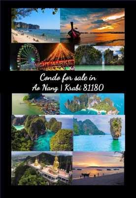 Krabi-Ao Nang Condo for sale (Reduced to 1.9M)