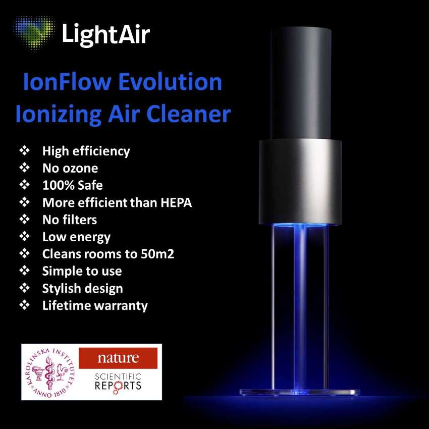 LIGHTAIR IONFLOW AIR PURIFIER - THE EDUCATED CHOICE! ⭐️⭐️⭐️⭐️⭐️