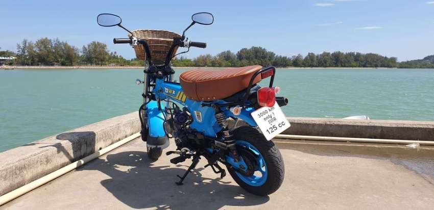 HONDA DAX 125cc 3000Km only 2 years