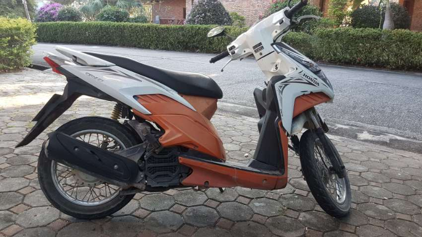 Honda click 110cc injection 2010 with complete DLT transfer forms