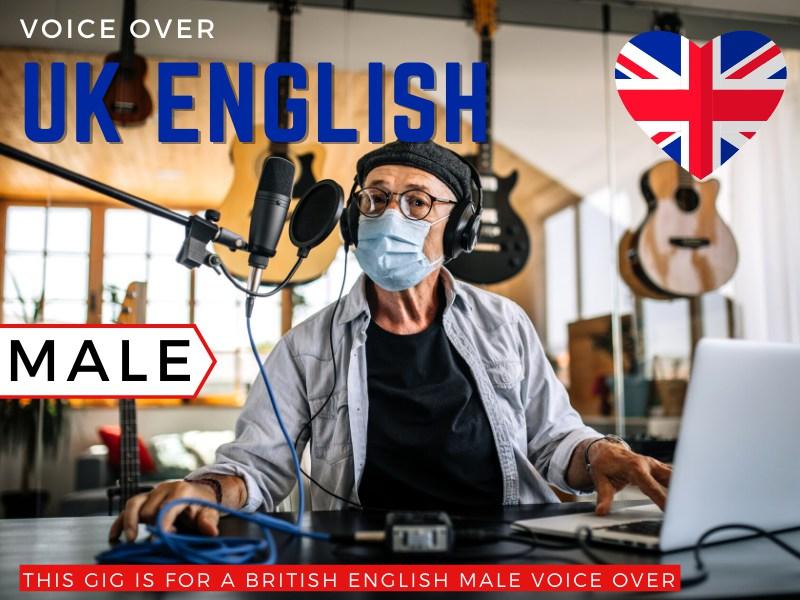 British English Male Voiceover
