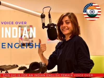 Indian English Female Voiceover