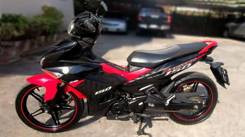 Yamaha Exciter 150  (only 11,850 km on bike)