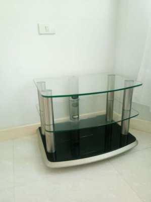 TV/Hifi Rack Glass/Steel