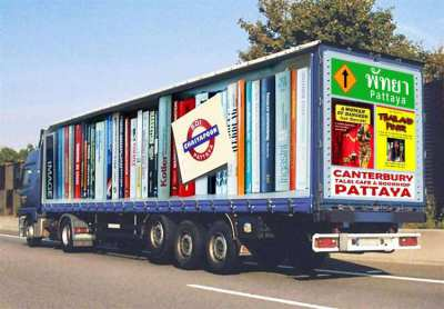 We ship books all over Thailand...