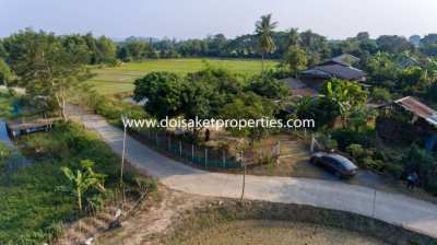 (LS344-00) Great Small Plot of Land for Sale in Luang Nuea, Doi Saket