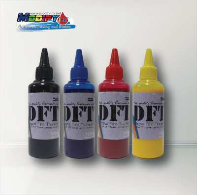 DFT INK 100ml หมึก Pigment สำหรับงานฟิล์มทรานเฟอร์