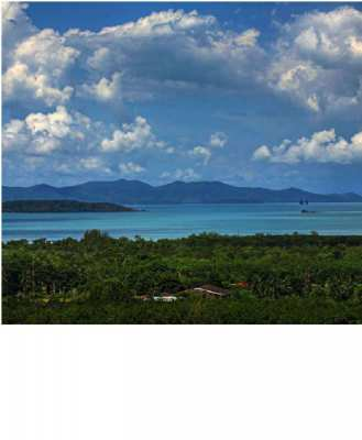reduced 180º UNOBSTRUCTED ocean VIEW LAND 1 or 2 Rai (3026sqm)