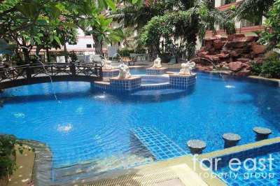 Wongamat 1 Bedroom For Sale With Tenant - 6% ROI