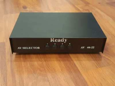 4 Way Audio Video RCA Selector for Sale