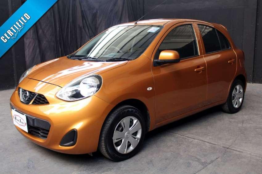 2013(mfd '13) Nissan March 1.2 E M/T