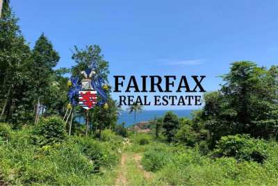 800 SQM Sea View Land For Sale In Haad Yao, Koh Phangan