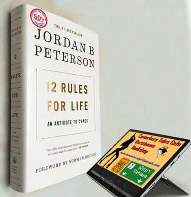 12 Rules for Life  AN ANTIDOTE TO CHAOS  BY JORDAN B. PETERSON...