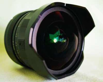 For Olympus, Panasonic 7.5mm f2.8 Fisheye Ultra Wide-Angle Lens