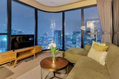 Condo for Rent  -  Ashton Chula-Silom , 2BR (65sqm), at 40K
