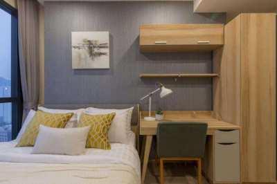 Condo for Rent  -  Ashton Chula-Silom , 2BR (65sqm), at 40K