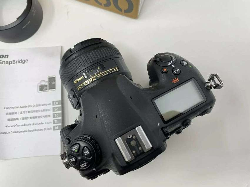 Nikon D850 45.7MP FX Digital SLR Camera With Nikkor 50mm f 1.4G Lens