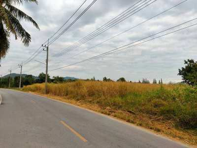 Nice 10 Rai Plot 80 Meters Paved Road Frontage - Ideal For New Homes!