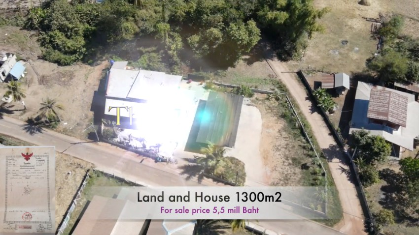Land in Esaan Samprao Udon Thani for sale