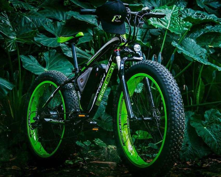 REDUCED TO SELL Rich Bit Top 022 1000W Electric Fat beach bike 48V