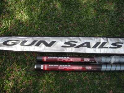 WINDSURF Mast SDM 460 CARBON 55 % GUN SAILS