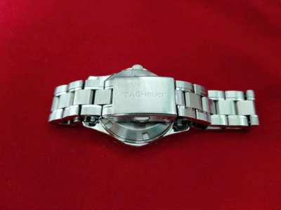 Tag Heuer Aquaracer Mother Of Pearl White Ladies 33mm Watch