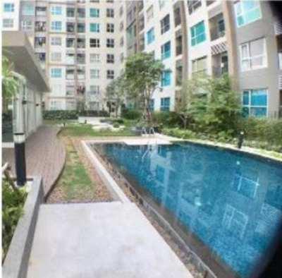 A 1 Bedroom 1 Bathroom condominium for sale at THB2.3mill.