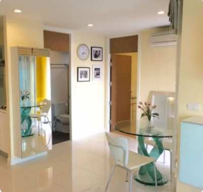 Fully furnished condominium: for Sale Near BTS Wong Wien Yai