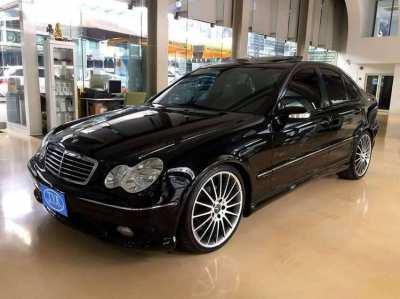 2001 Mercedes-Benz C-Class 200 Kompressor, only driven 5,000 Km!